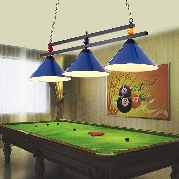 IG Lámpara de Mesa de Billar, Lámpara Especial de Mesa de Billar, Lámpara de Club, Lámpara de Billar Americana, Lámpara de Mesa de Billar,Negro,Un tamaño: Amazon.es: Deportes y aire libre