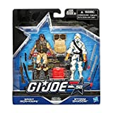 G.I. Joe 50th Anniversary Classic Clash Action Figure Set (Spirit Iron Knife vs. Storm Shadow) 3.75 Inches