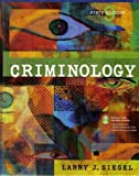 Criminology - The Core, Siegel, Larry J., 0495000949