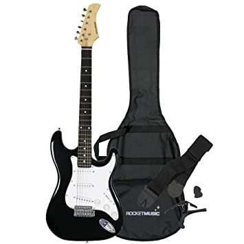 Rocket XF203ABK - Guitarra eléctrica: Amazon.es: Instrumentos musicales