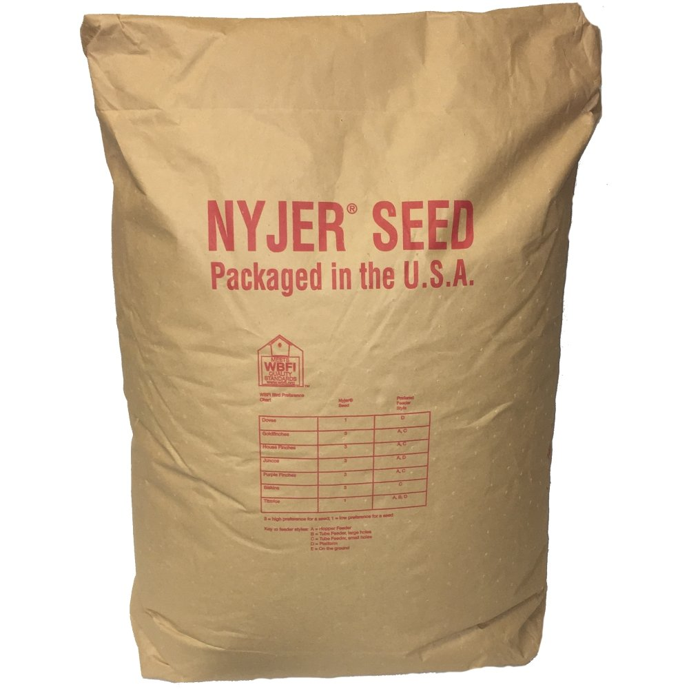Wagner's 62052 Nyjer Thistle Seed Wild Bird Food, 50 lb