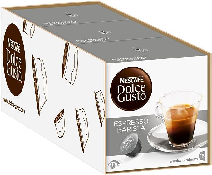 Nescaf? Dolce Gusto Barista Coffee (Pack of 3): Amazon.es: Hogar