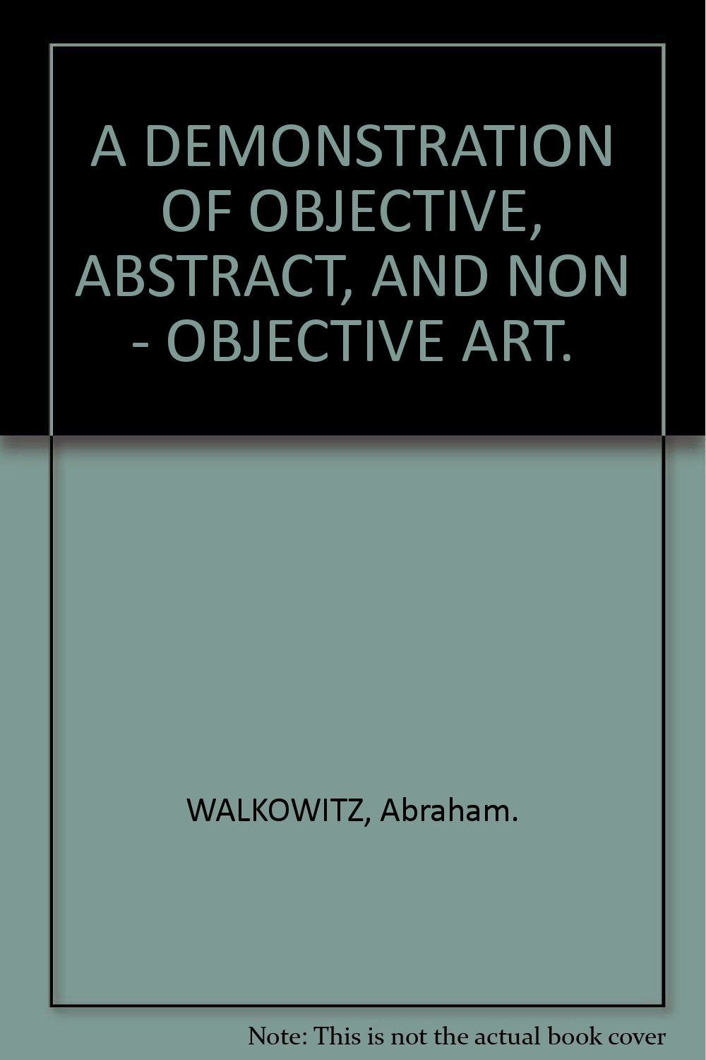 Difference Between Abstract And Non Objective Art