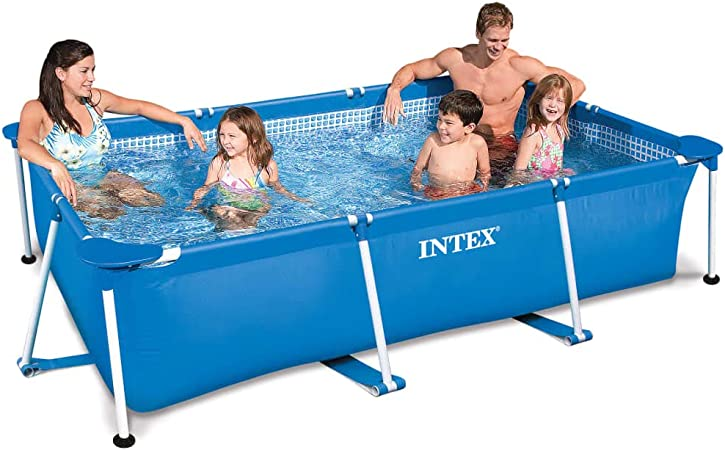 Intex- Piscina Rectangular Frame 300 x 200 x 75 cm: Amazon.es: Hogar