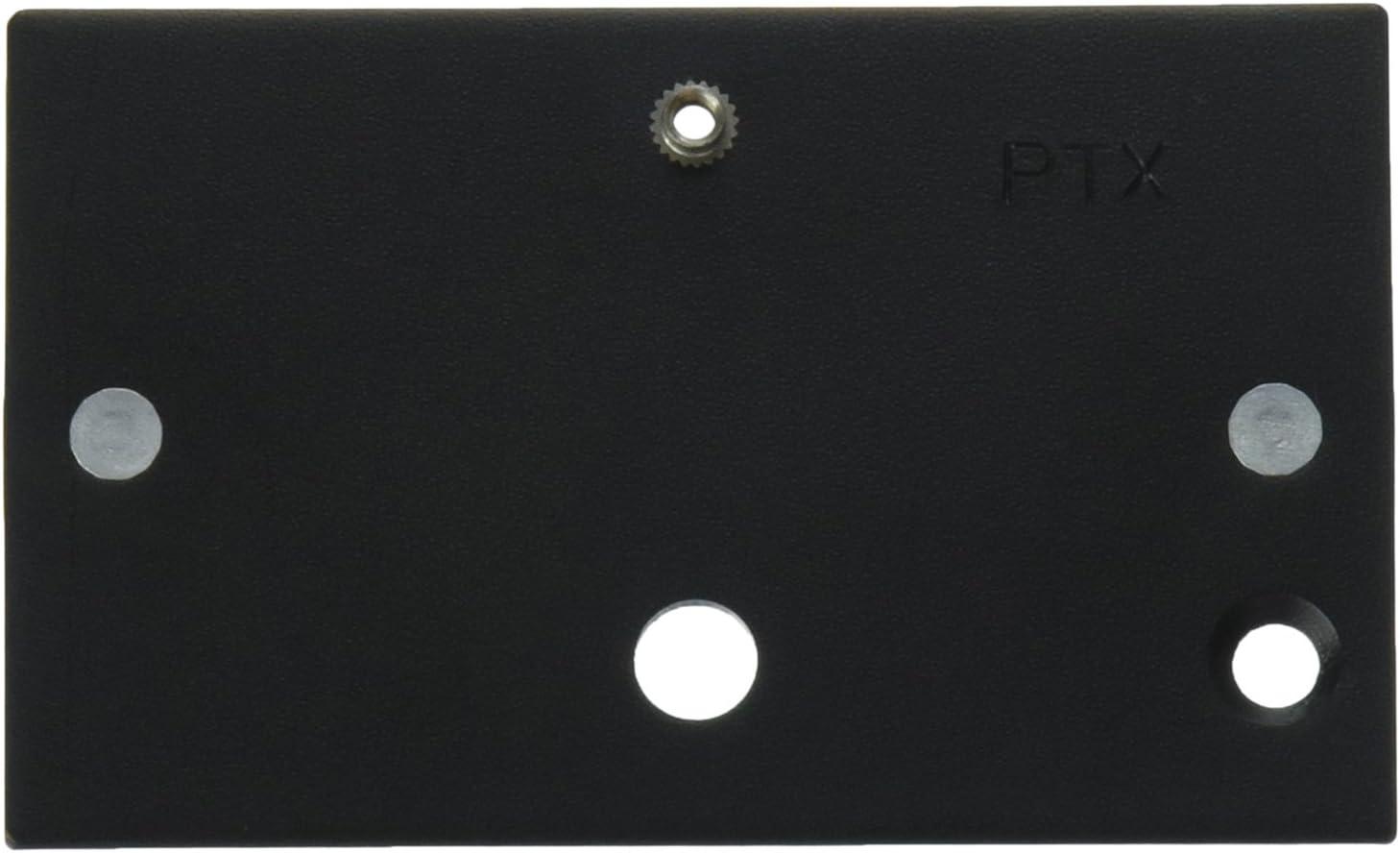 Black Stroboframe 300-PTX Anti-Twist Plate for Pentax 645
