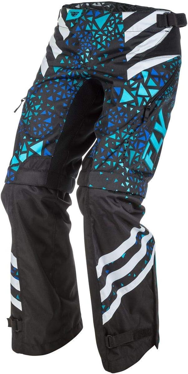 Fly Racing Womens Kinetic O.T.B Blue//Black, Size 5//6 Pants