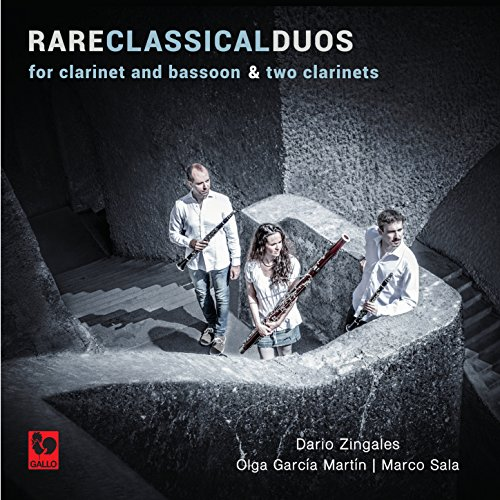Three Duos for Clarinet and Bassoon, No. 1: I. Allegro