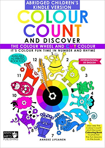 Colour Count and Discover:: The Colour Wheel and CMY Colour - UK Kids - Uk Colors