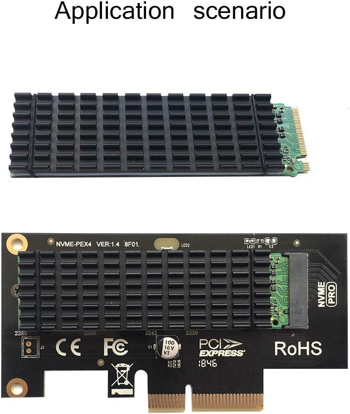 SGTKJSJS PCIe NVMe M.2 SSD Heatsinks Cooler with Thermal Pad (2 Pack )