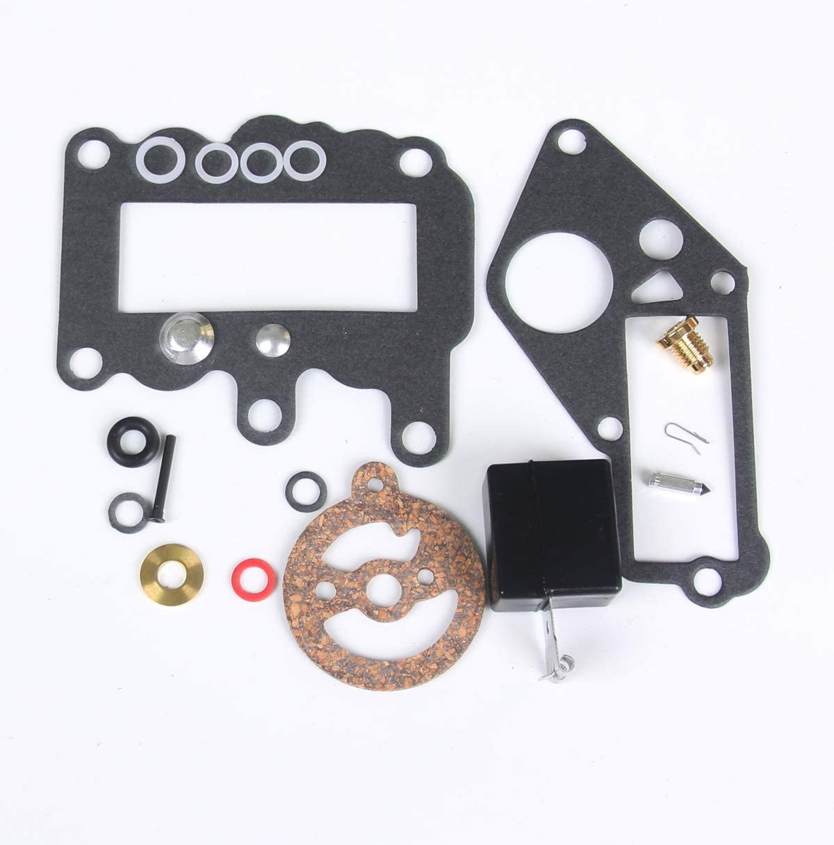 New Carburetor Carb Repair Rebuild Kits Float for Johnson and Evinrude outboard 9.5 hp Engine 1964-1973 Replace 382048
