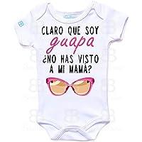 Pañalero Personalizado Bebé Día de las Madres en Manga Corta o Larga