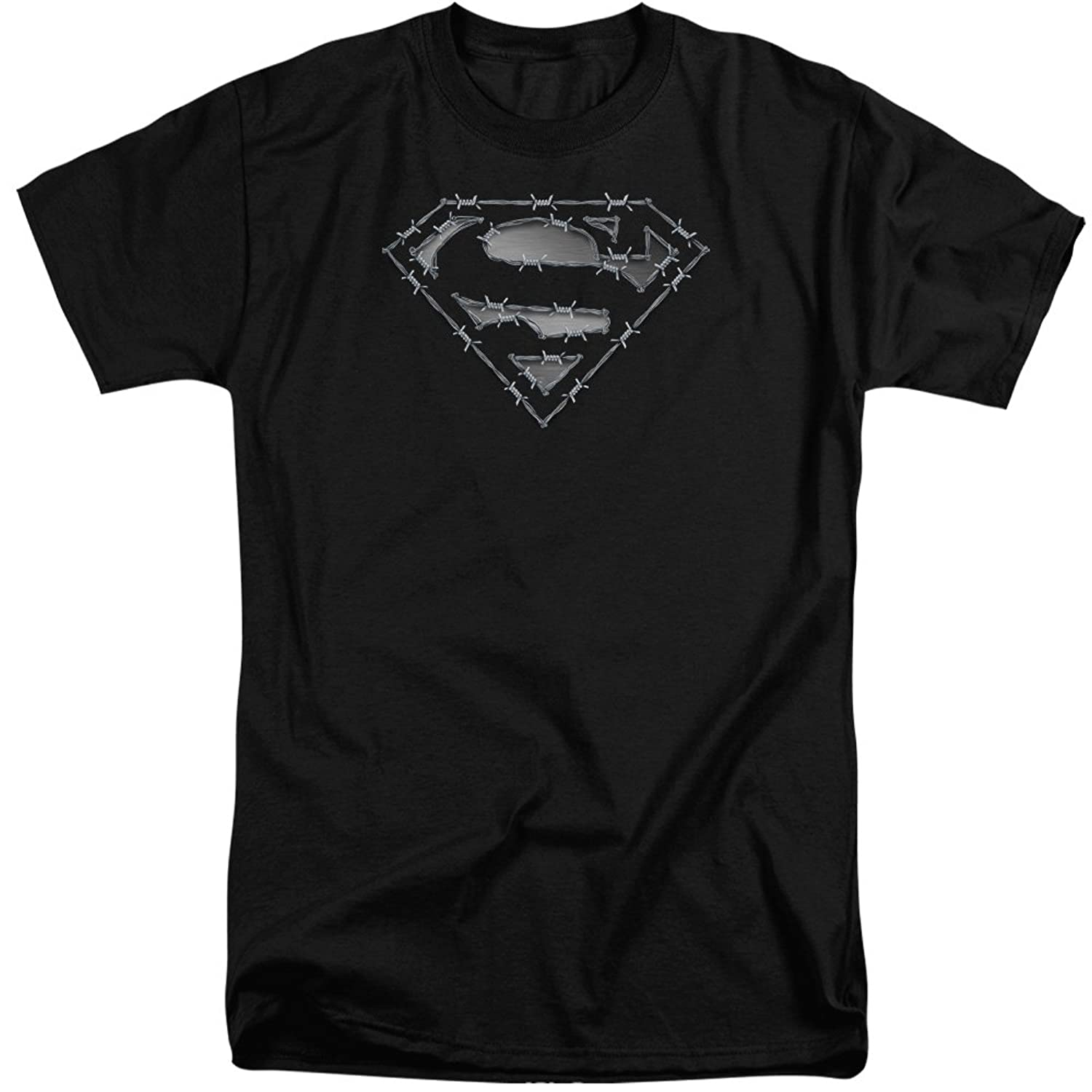 Superman Men's Barbed Wire Tall T-Shirt