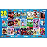 Licensed Jigsaw Puzzles in Mini Tins 20-pack