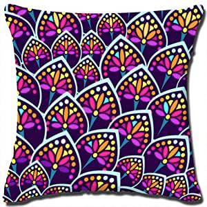 Decorative Pillow 18 X 18 Insert : Amazon.com: Pattern Series Throw Pillow Cover Children Cotton Linen Square Decorative Funny ...