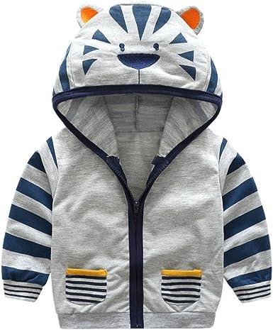 Girls Trendy Animal Zipper Hoodies Autumn Kids Cartoon Mouse Print Coat Jacket 2-7 Years