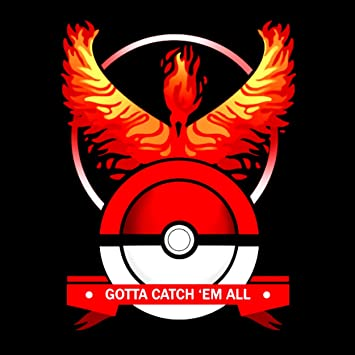 pokemon go red team sticker gotta catch em all ideal for tablets