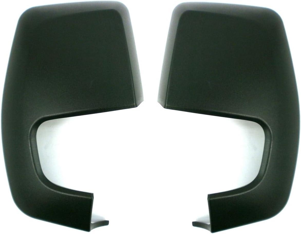 Door Wing Mirror Cover Primed Pair Left /& Right aftermarket Transit Custom 2012