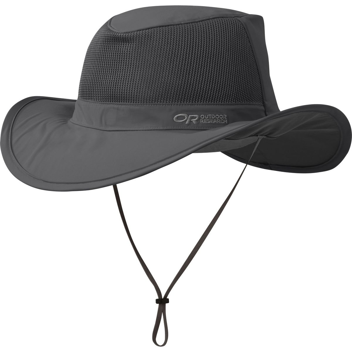 Outdoor Research Ghost Rain Hat, Charcoal, X-Large