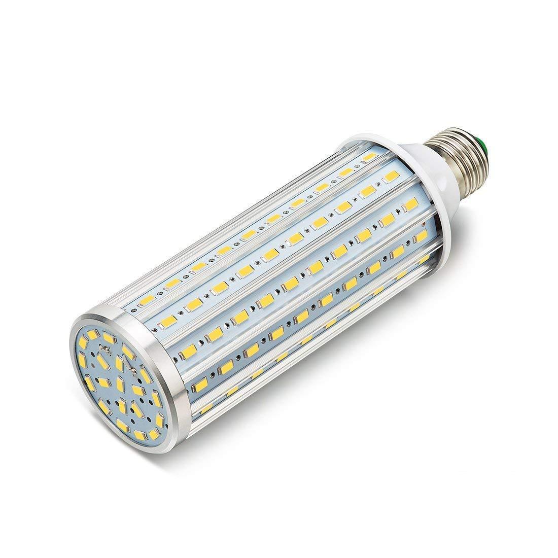 ONLT LED Corn Light Bulb,E27 35W 3450LM(Equivalent a 350W),LED Aluminum High Power Corn Light Bulb,for Workshop, Warehouse, Factory, Porch, Backyard,High Bay Barn,Super Bright (35W-Naturally White)