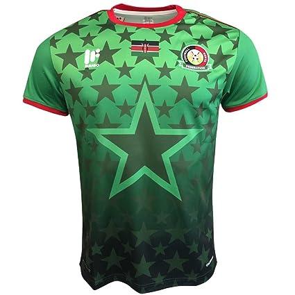 Amazon.com   UKSoccershop 2017-2018 Kenya Away Football Shirt ... c74d670a0