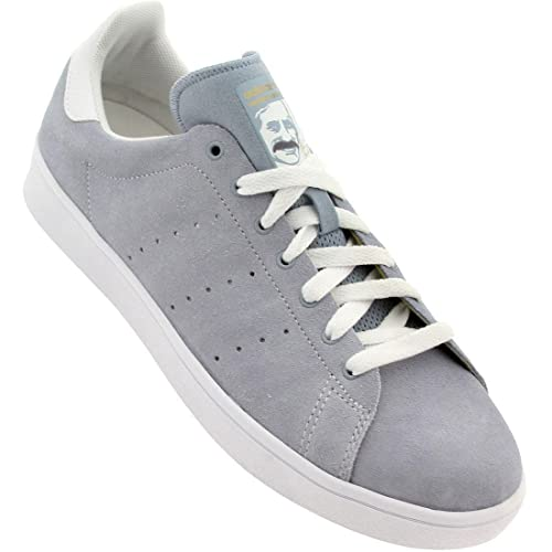 b4986bdbdb87 Adidas Stan Smith Vulc (Dust Blue White White) Men s Skate Shoes-10.5   Amazon.ca  Shoes   Handbags
