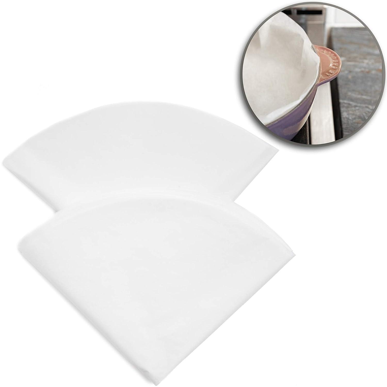 Juvale Parchment Paper 50 Pack - Dutch Oven Parchment Paper Liners - 20 inches