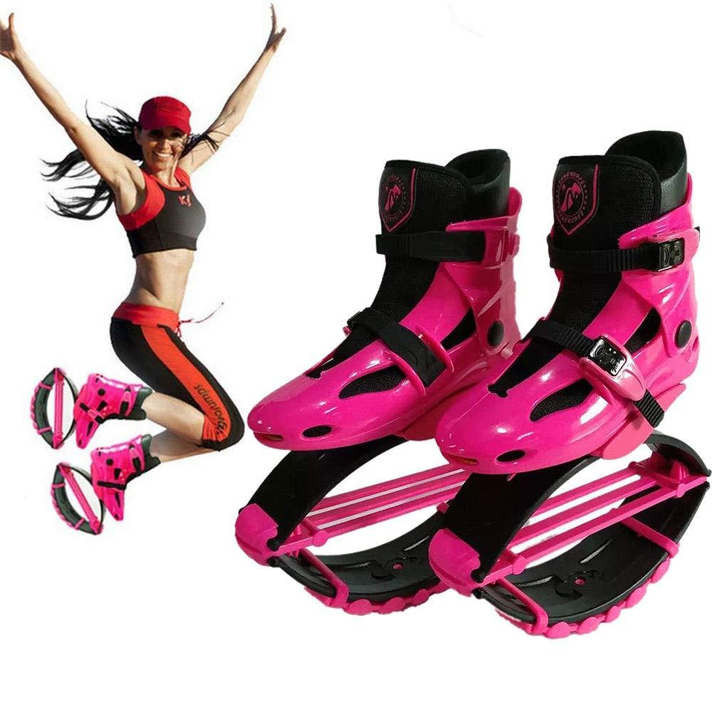 男女兼用バウンスシューズ - エアキック、大人用の反重力ランニングシューズ、ユース&キッズ - フィットネス、ランニング、バスケットボール用トランポリンシューズ 跳躍競技   B07TDYJVFC