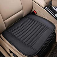 AMERTEER Breathable Car Interior Seat Cover Cushion Pad Mat for Auto Supplies Office Chair with PU Leather Four Seasons…