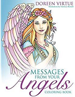 messages from your angels coloring book - Coloring Book Angels