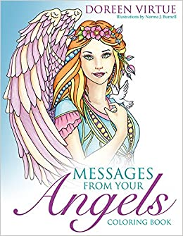 Messages from Your Angels Coloring Book: Doreen Virtue, Norma J ...