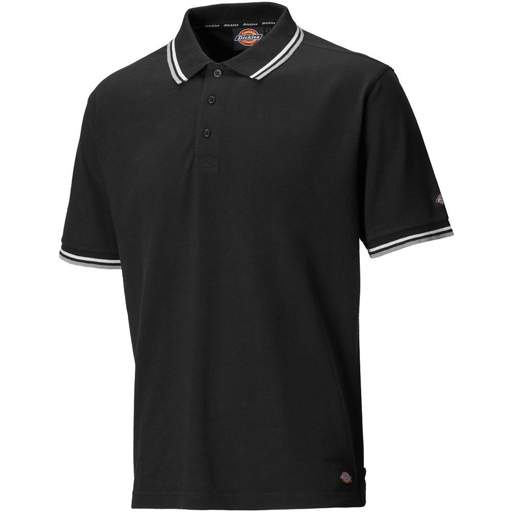 Dickies SH2001 BK M Polo-ShirtRiverton Gr/ö/ße M in schwarz