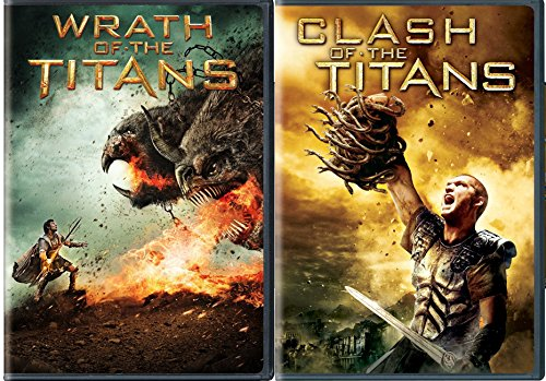 Clash of The Titans & Wrath of the Titans DVD Set Amazing Fantasy action mythology Double Feature -