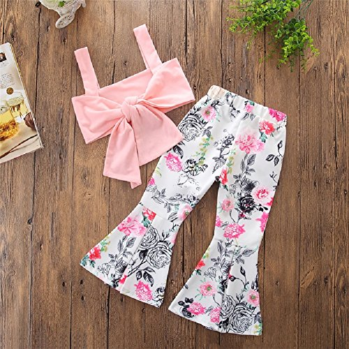 1d683ceae24c KIDSA 1-6T Toddler Baby Little Girls Cute Clothes Bandage Tube Top ...