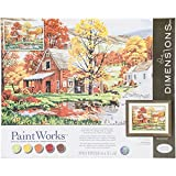 Dimensions Crafts 73-91475 Friends of Autumn Paint