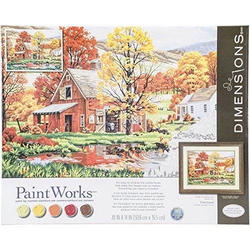 Dimensions Crafts 73-91475 Friends of Autumn Paint by Dimensions Crafts