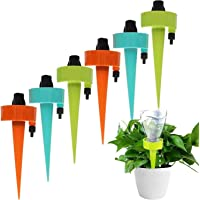 NANAO Plant Self Watering Spikes Devices,Universal Adjustable Plant Watering Spikes Automatic Irrigation Equipment with…