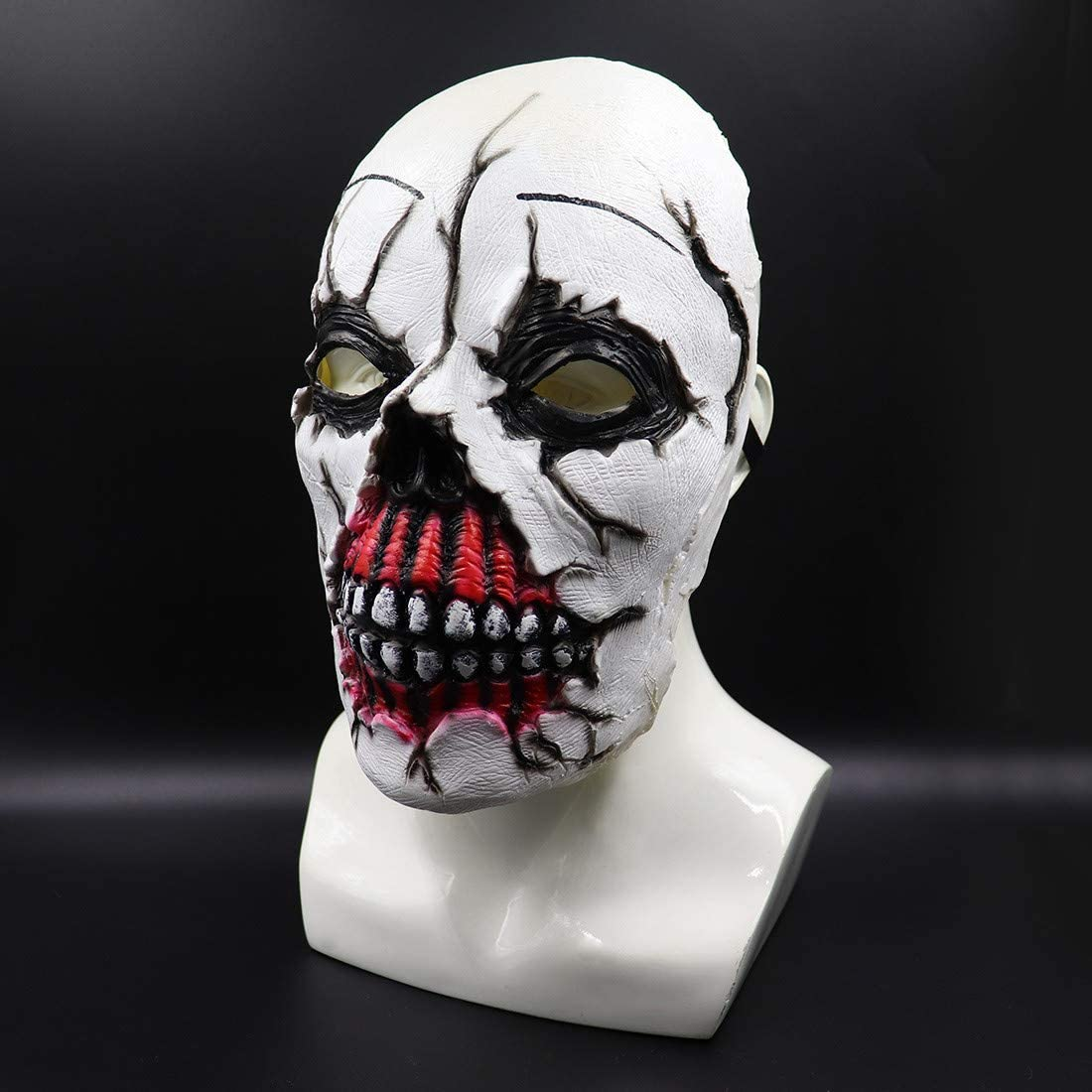 Scary Party Decorations Gifts Halloween Costume Bloody Zombie Mask Latex Toys