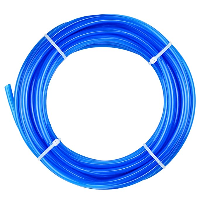 Tailonz Pneumatic Blue 1/4 Inch OD 10 Meters PU Air Tubing Pipe Hose Pu Air Hose for Air Line Tubing or Fluid Transfer Tubing…