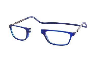comprando ahora estilo único más tarde Monturas de Gafas de Lectura Slastik Nuevo Magnético Estilo Clic Jabba 005  Dioptría +1.50 de funda blanda