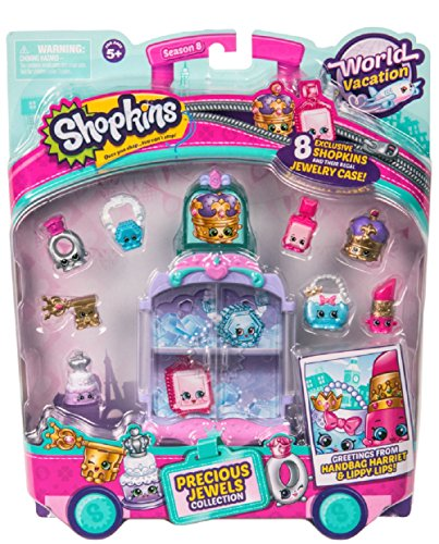 Shopkins World Vacation (Europe) - Precious Jewels (World Collection)