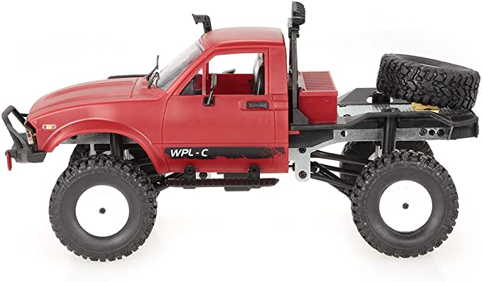 WPL C14 1//16 2.4GHz 4WD RC Crawler Off-road Semi-truck Car with Headlight RTR US