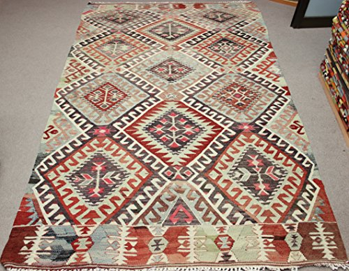 Decorative Vintage Kilim rug 10,4x5,9 feet Area rug Old Rug Bohemian Kilim Rug Floor rug Sofa Decor Rustic Kilim Rug