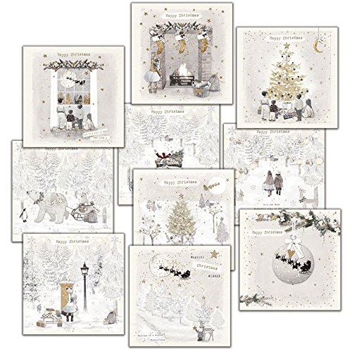 Hammond Gower Pubblicazioni AXP010cartolina di Natale (confezione da 10) Hammond Gower Publications