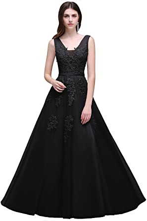 Applique Formal Dress
