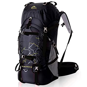 Amazon.com : FengTu 60L Outdoor Sport Bags Water-resistant Hiking ...