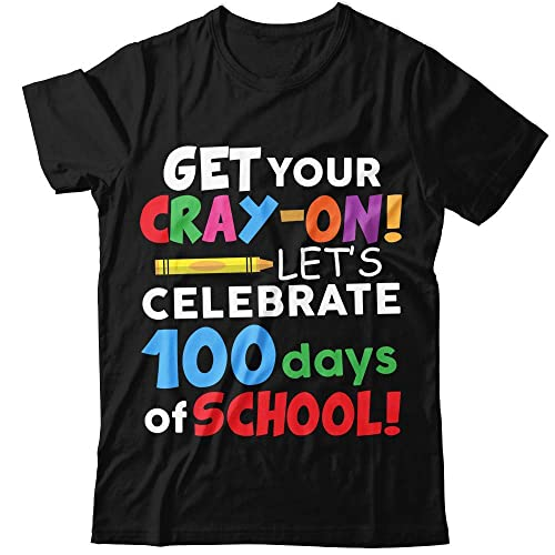 9fcbf2ce1420a Amazon.com: Get-Your-Cray-On 100-Days-Of-School Cray-Cray Teacher ...