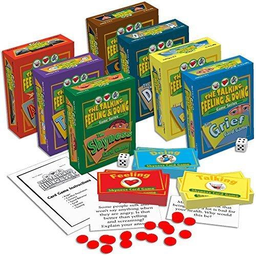 The Talking, Feeling & Doing Card Games Set