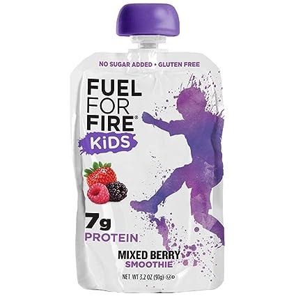 Combustible para niños con fuego: bolsa para exprimir ...