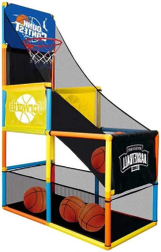 Juego de arcade de baloncesto,Aro de baloncesto para niños, Juego ...