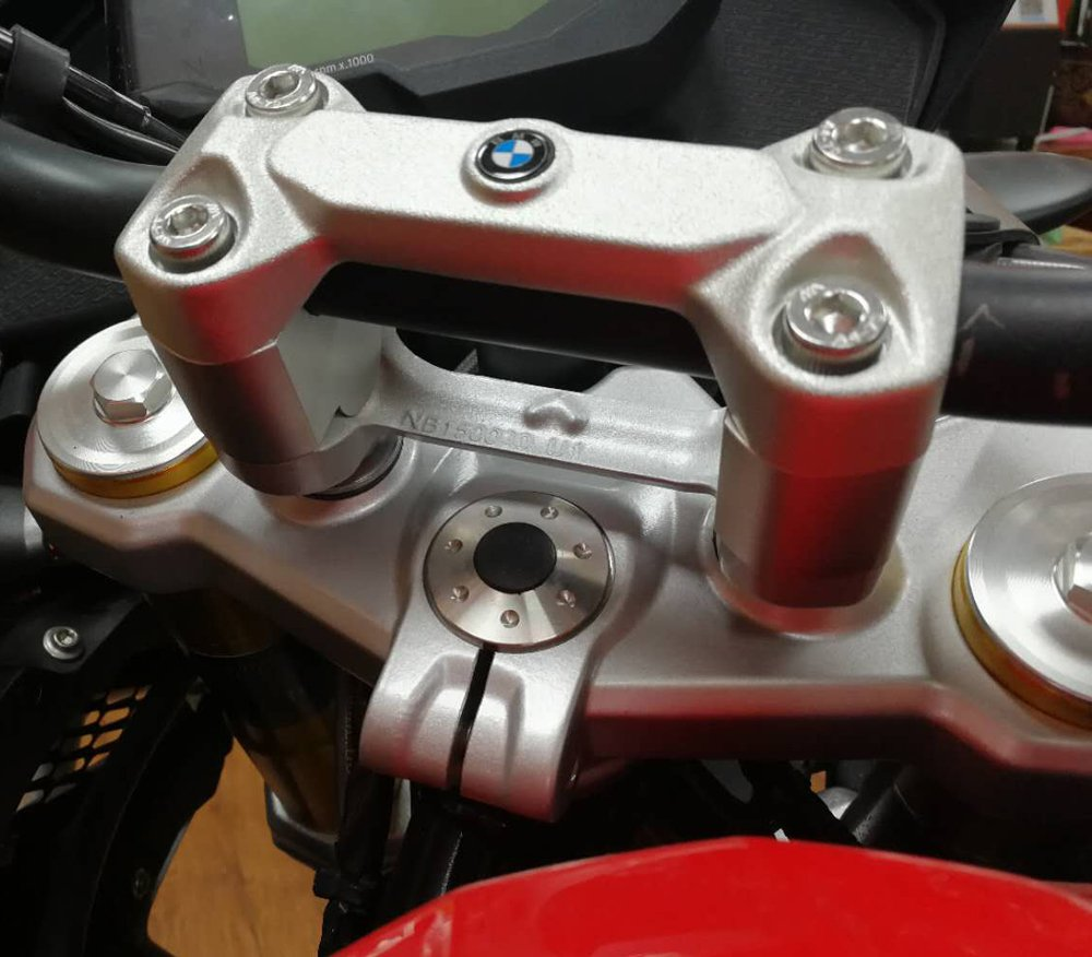 bike GP handlebar risers//Height up Adapters for bmw g310gs g310r 2017+